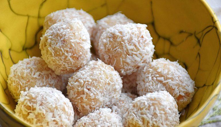 Capsule gourmande – Friandises noix de coco, citron et gingembre confit